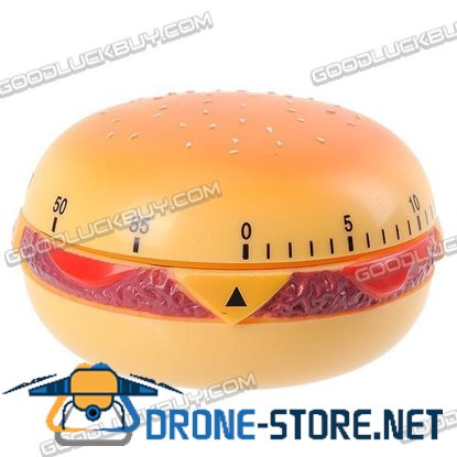 Hamburger 60 Minutes Kitchen Cooking Time Count Timer