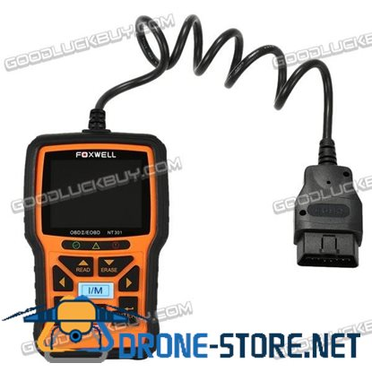 FOXWELL NT301 OBD OBDII Car Code Reader Diagnostic Scan Tool Multi-system Scanner