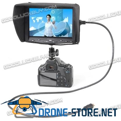 """7"""" LCD Touch monitor with VGA/HDMI FW619AHT-450"""