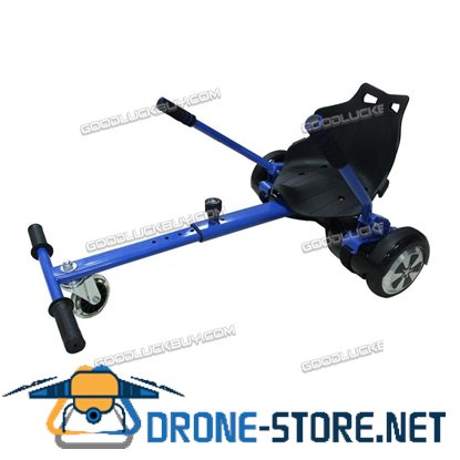 "HoverKart HoverCart Adjustable Kart for Hoverboard Fits 6.5"" 8"" & 10"" Blue"