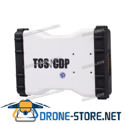 TCS CDP PRO+ 2014.02 Software Scanner Auto Diagnostic Tool for Cars & Trucks White