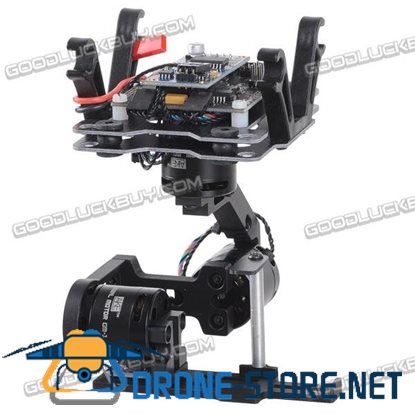 MC6500Gopro-BLG V2.0 3-Axis Brushless Gimbal Combo for Gopro 3/3+ Camera FPV Photography