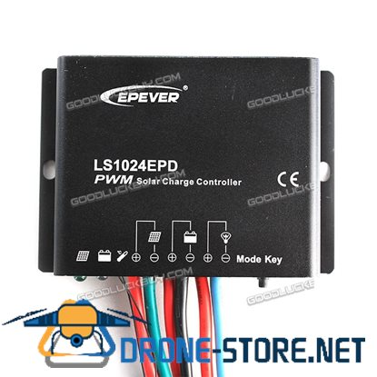 EPEVER LS1024EPD 10A PWM Solar Panel Charge Controller Regulator 12V 24V Auto