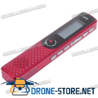JXD D62 Voice Recorder MP3 Player 2GB Flash