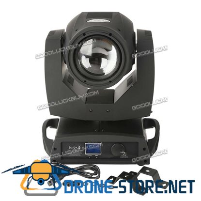 230w 7R DMX Zoom Moving Head Light Gobo Beam 8 Prism DJ Party Lighting