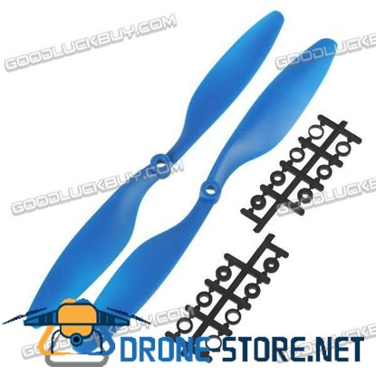 "10x4.5"" 1045 1045R Counter Rotating Propeller Blade For Quadcopter MultiCoptor-Blue"