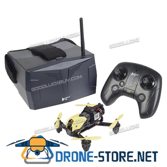 Hubsan H122D X4 Storm 5.8G FPV Drone HD 720P Camera RC Quadcopter w/ HV002 Goggle P2Y7