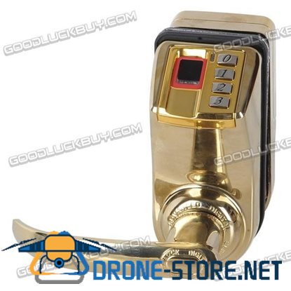 Adel GOLD ADEL-3398 Fingerprint Pin Code Key Door Lock