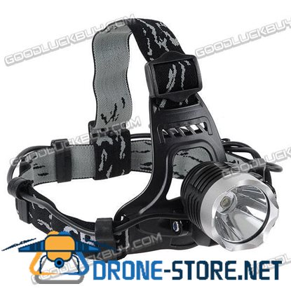 3W CREE Q5 LED Rechargeable 2 in 1 Headlamp Bicycle Light