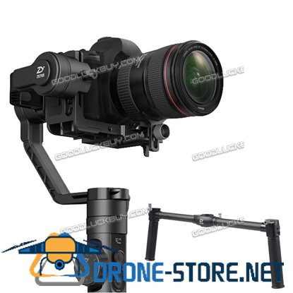 Crane 2 High Accuracy Gyroscope Focal Stabilizer Camera Gimbal & Dual Handheld Grip Holder