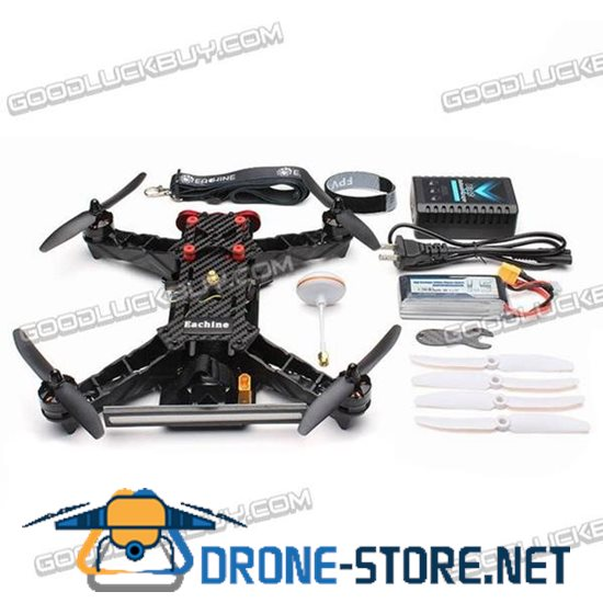 Eachine Racer 250 ARF FPV Quadcopter Drone with Build-in 5.8GTransmitter HD Camera ESC Motor Props