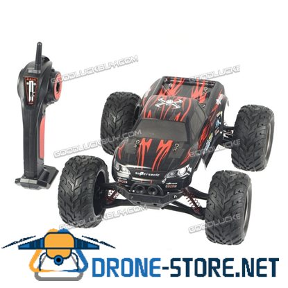 1/12 High Speed Bigfoot 2.4G Off Road RC Car Climing Racing Remote Control Truck Red