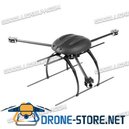 SkyKnight Y6-700 700mm 3-Axis Tricopter Folding Carbon Fiber Frame Kit with Landing Gear Skid Motor Mount for Multicopter
