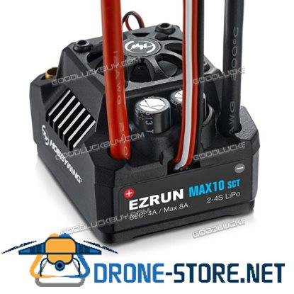 Original Hobbywing EZRUN MAX10 SCT 120A Brushless ESC Waterproof for 1/10 Car