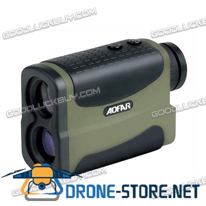 1000M 6X Scope Laser Golf Rangefinder Measuring Distance Telescope with Compass