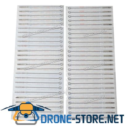 50pc 5/7/9/11/13RM Tattoo Supply Machine Sterile Disposable Needle