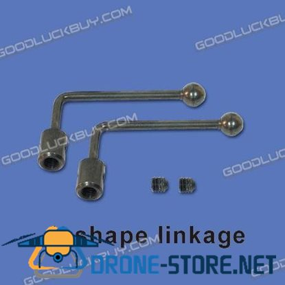 Walkera Creata400 Parts HM-Creata400-Z-04 L-Shape Linkage