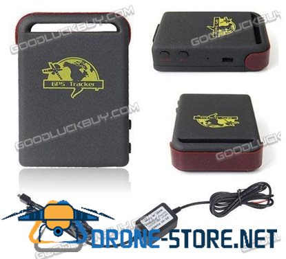 Realtime GPS/GSM/GPRS Tracker + Hard-wired Car Charger