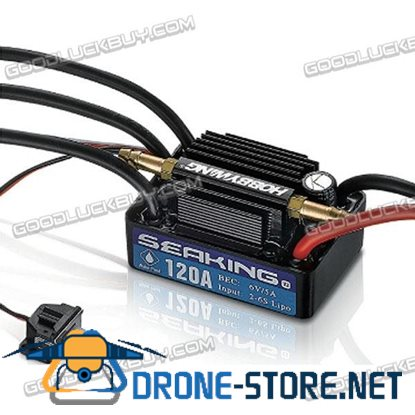 Hobbywing Seaking 120A V3 Electronic Speed Controller ESC for RC Boats