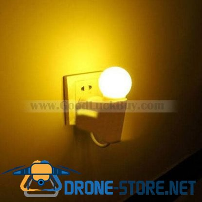 Doulex Automatic Light Sensor LED Night Light Lamp Warm White