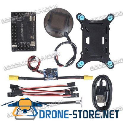 APM2.6 ArduPilot Mega 2.6 External Compass APM Flight Controller Combo w/Ublox NEO-6M GPS+Power Module for Multicopter