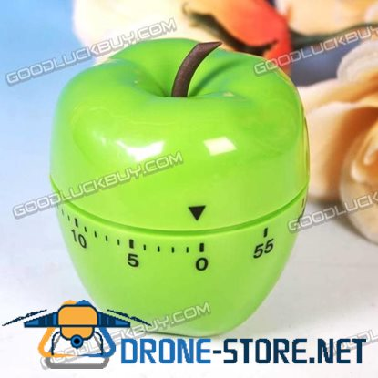 60 Minutes Kitchen Cooking Time Count Timer Apple Shape