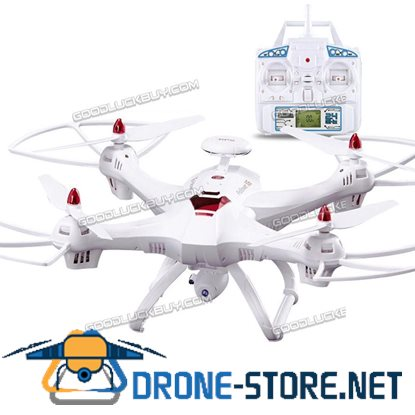 Global Drone X183 With 5GHz WiFi FPV 1080P Camera Dual GPS Brushed Quadcopter White