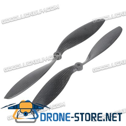 1038 10*3.8 inch Carbon Fiber CW CCW Porpeller Props 1 Pair for FPV Multicopter F550 F450