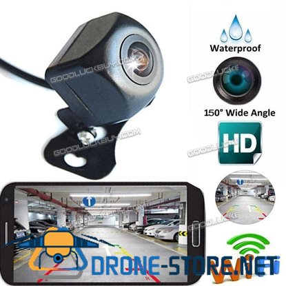 150 Degree WiFi Wireless Car Rear View Cam Backup Reverse Camera for iPhone Android ios