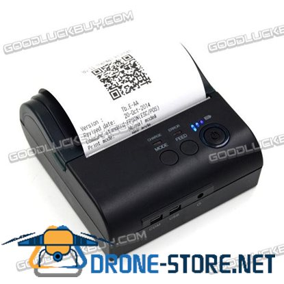 POS-8001DD 80mm Mini Bluetooth Thermal Receipt POS Printer for IOS Android Windows