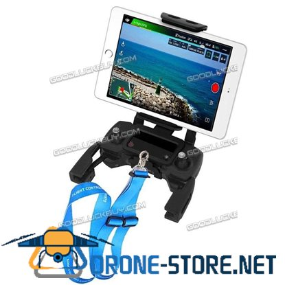 """DJI Mavic Air Pro Platinum Tablet Holder Adapter for 4-10"""" iPad iPhone Android Phone"""