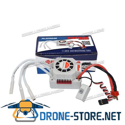 SURPASS HOBBY Platinum 1/10 60A Electric Speed Controller Waterproof Brushless for RC Model