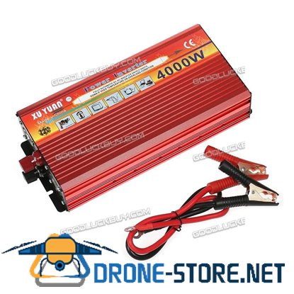 1800W 4000W Peak Modified Sine Wave Power Inverter DC12V To AC110V Converter