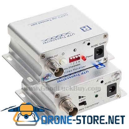 1 Channel Active Twisted Pair Video Balun UTP Transceiver (1800M) UTP2401ATR