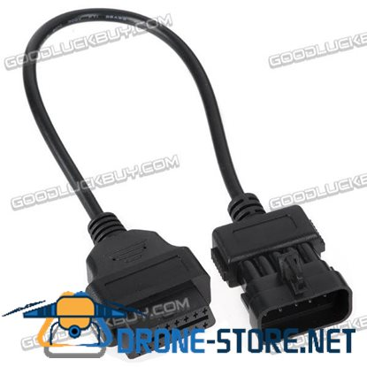 OBD2 Female Connnector to OPEL 10 Pins Cable