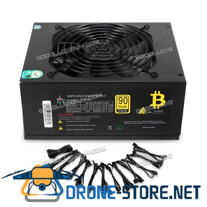 1600W Plus Gold APW3 Mining Power Supply for BTC Miner Antminer S9 S7 L3+ D3 R3