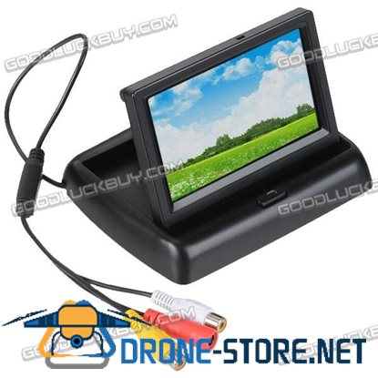 4.3 inch Car LCD TFT Monitor Rear View Reverse Backup Monitor System
