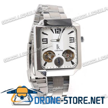 Stainless Steel Automatic Mechanical Men Wrist Watch IK Colouring 98250