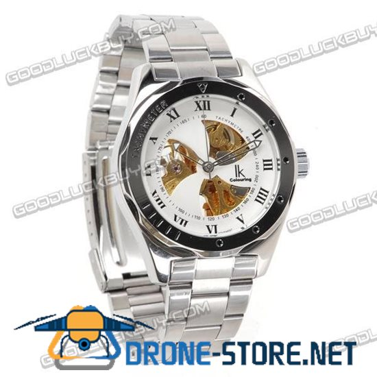 IK Colouring Automatic Mechanical Men Wrist Watch Stainless Steel 98251
