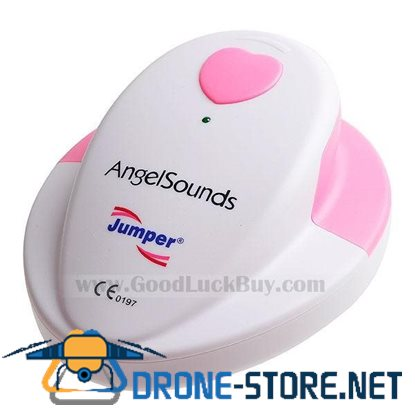 AngelSounds Baby/Fetal Heart Beat Monitor for Soon-To-Be Parents (1*6F22) new