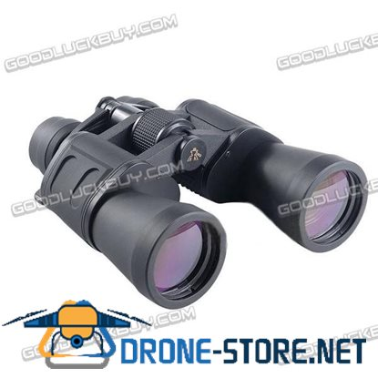 Outdoor Travel Day Night Vision 50mm Tube 180 x 100 Zoom HD Binoculars Telescope+Bag
