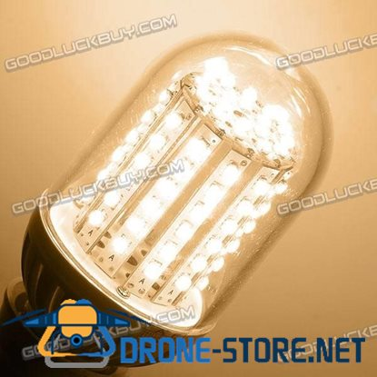 E27 3528 SMD 90 LEDs Warm White Light Bulb Lamp 100-250V 5.5W