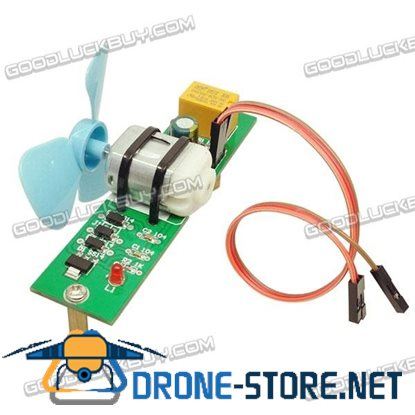 Singlechip RC Smart Robot Car Fire-fighting Module Kit Strong Wind