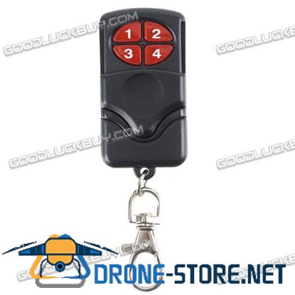 4-Button Wireless Learning Remote Control for Car Garage Door 315MHz 04-J1