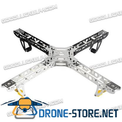 ST450 QuadCopter Folding Frame Quad-Rotor Aluminum KK MK MultiCoptor 450mm Sliver/Black