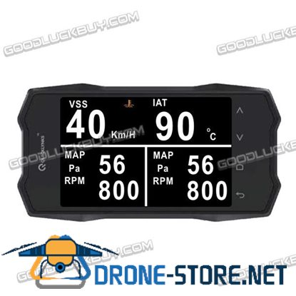 "2.8"" TFT Color Screen Auto Trip Computer Digital Gauges Scan Tools TurboGauge VI for Cars"