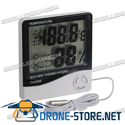 TH-208B Indoor and Outdoor Thermometer Hygrometer