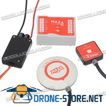 DJI Naza-M Lite New Version Multi-rotor Flight Control with GPS LED & PMU Module