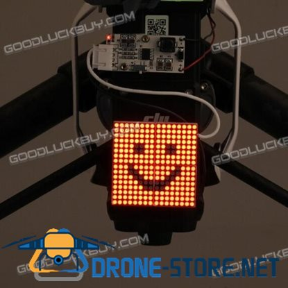Decorative Night Light Taillight Smile Pattern for DJI Inspire 1 Quadcopter 1 Pack