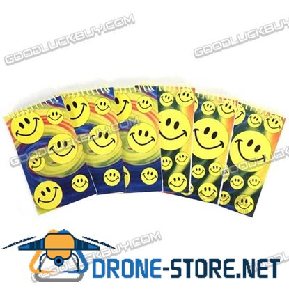 Scratchpad Note Notepad Paper Memo Smile Face (6-Pack)